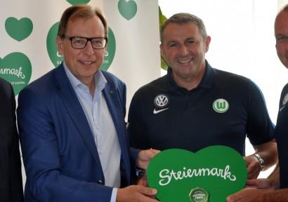 Landesrat Buchmann besucht Wolfsburg