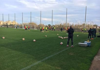 Ferencvárosi TC in Valencia
