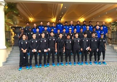IFCS heißt Katar U19 Team in Portugal willkommen