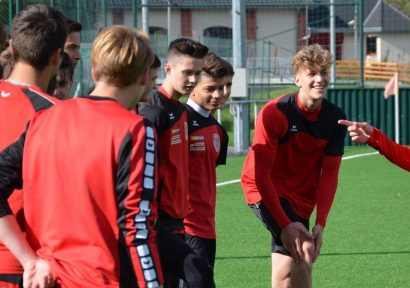 FC Bayern München-Coach trainiert mit Kapfenberger Akademie
