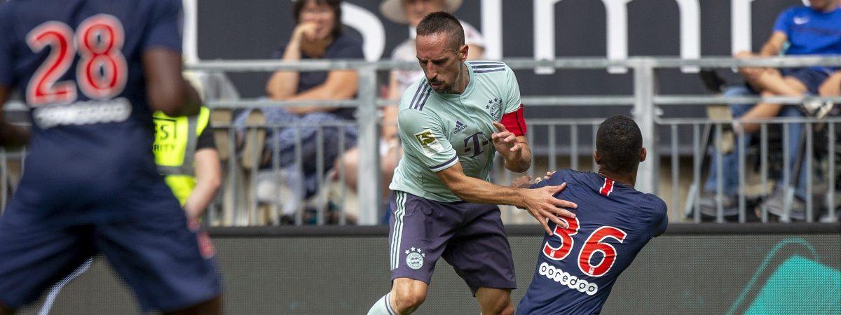 FC Bayern München gegen Paris-Saint-Germain